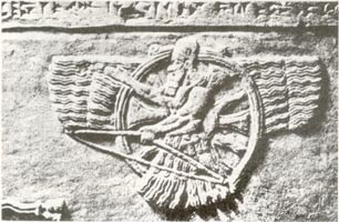 the winged god Ashur